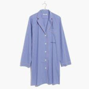 Madewell Oversized Rise & Shine Sleep Shirt sz-M